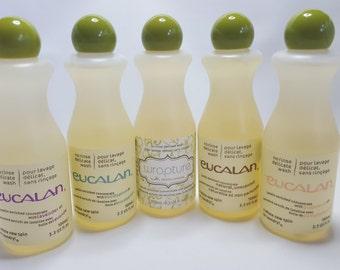 EUCALAN, no rinse delicate wash, 100ml, various scents, wool wash, washing detergant