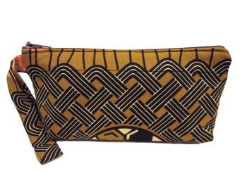 Small Cosmetic Bag | Small Wristlet | Ankara Bag | Toiletry Bag | Jewelry Pouch | Accessories Bag | Pencil Case | Sewing Pouch |Purse insert