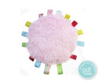 Ribbon Toy pattern, Fur or Cotton