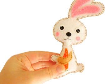 Felt Rabbit EASTER  Bunny PDF pattern