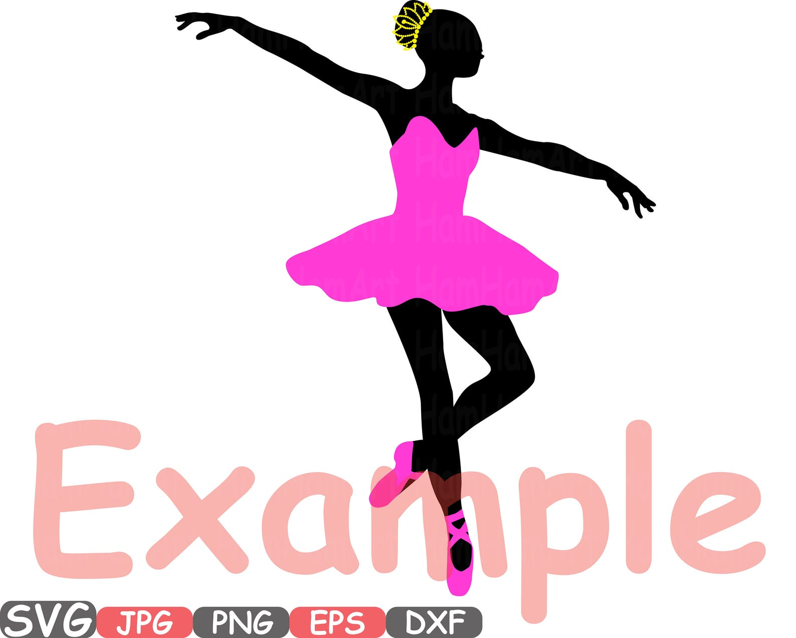 ballet ballerina svg silhouette cutting files sign icons dance slippers cricut design cameo vinyl monogram clipart 658s