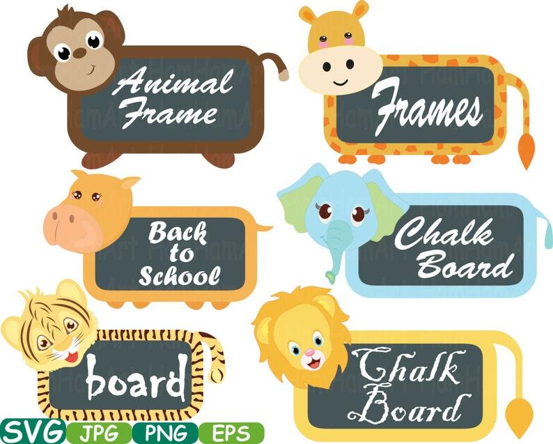 Animal Borders And Frames