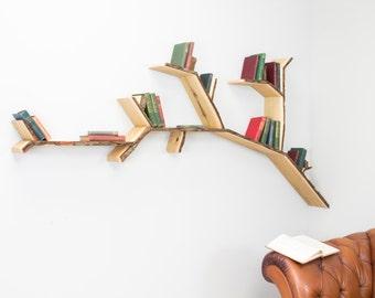 The Oak Tree Branch Shelf