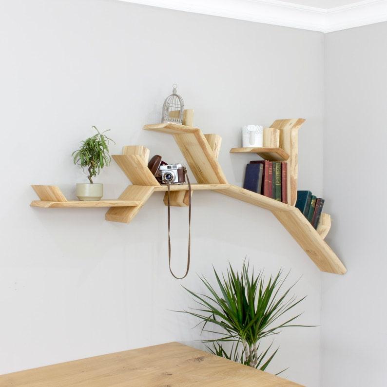 The Oak Tree Branch Shelf  1.8m Size image 0