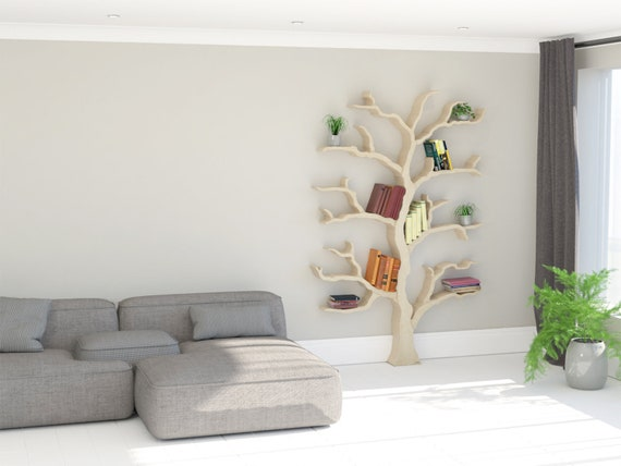 NEW PRODUCT The Cotswold Elm Tree Bookcase Shelf