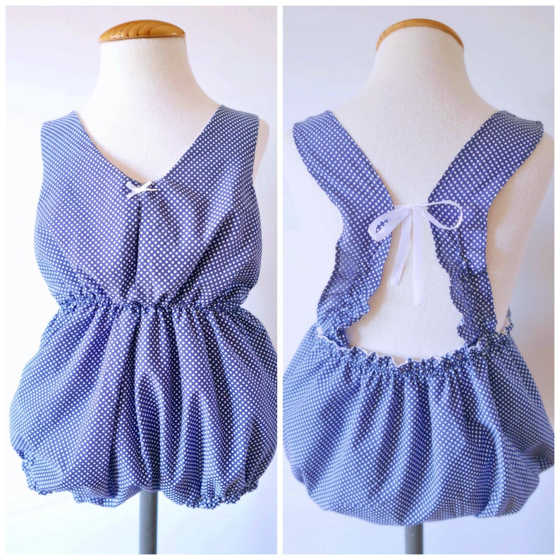 000d5f80deb0 Baby Romper and Dress PDF Pattern with VIDEO TUTORIAL 6