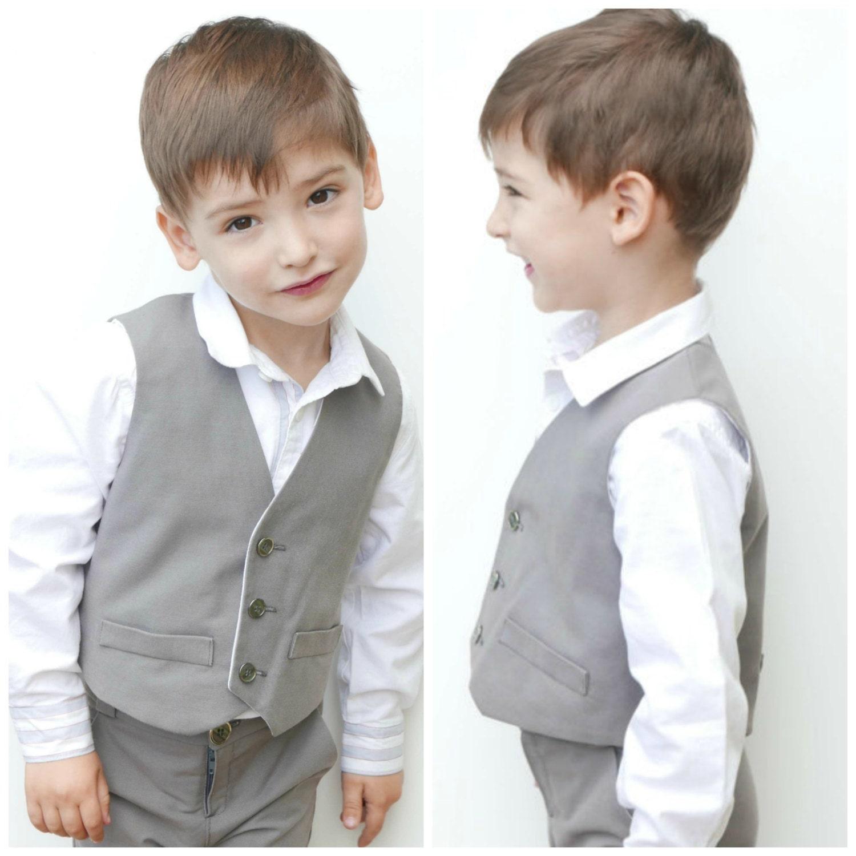 Chaleco Reversible para Niño : Patrones de costura chaleco | Etsy