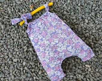 Ranita o peto estilo Harem para niña mod. Littlegirl tallas prematuro a 6 años, PATRÓN PDF descarga inmediata, patrones fáciles