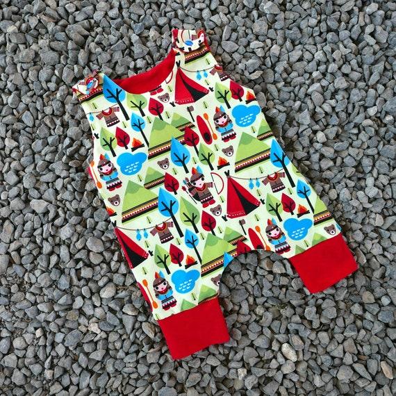 8683585bac71 Baby Harem romper PDF sewing pattern pm 6 years unisex