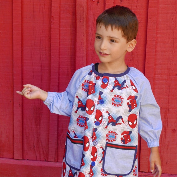 eda4f1aaf7539 Bata escuela Patrón PDF Raglán niño o niña en tallas 6 meses a