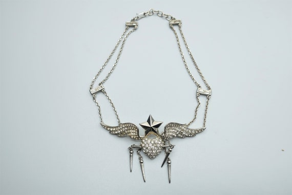 Thierry Mugler Silver Necklace
