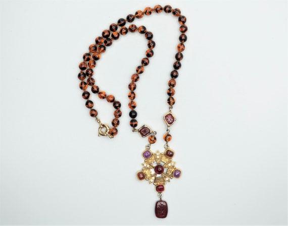 Chanel Gripoix Necklace