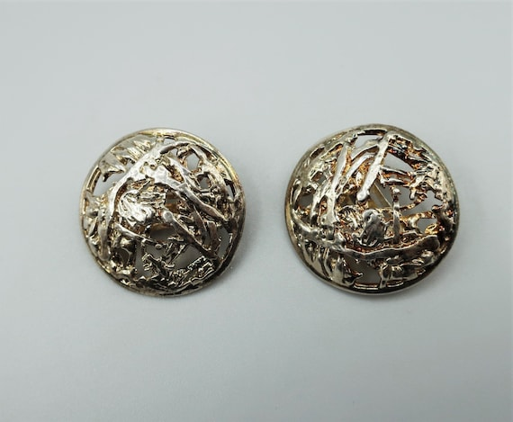 Paco Rabanne Silver Earrings