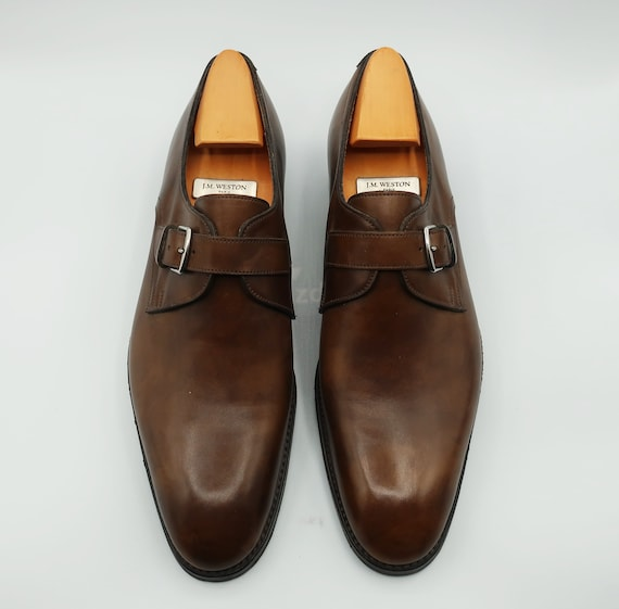 Hermes Brown Leather Men Shoes