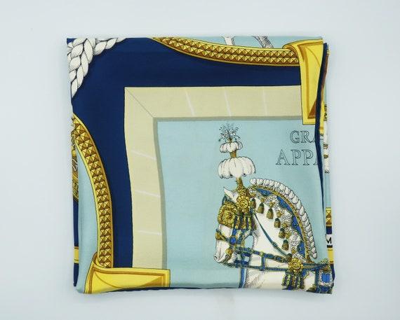 "Hermès ""Grand Apparat"" Silk Scarf"