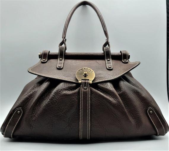 Fendi Brown Selleria Bag