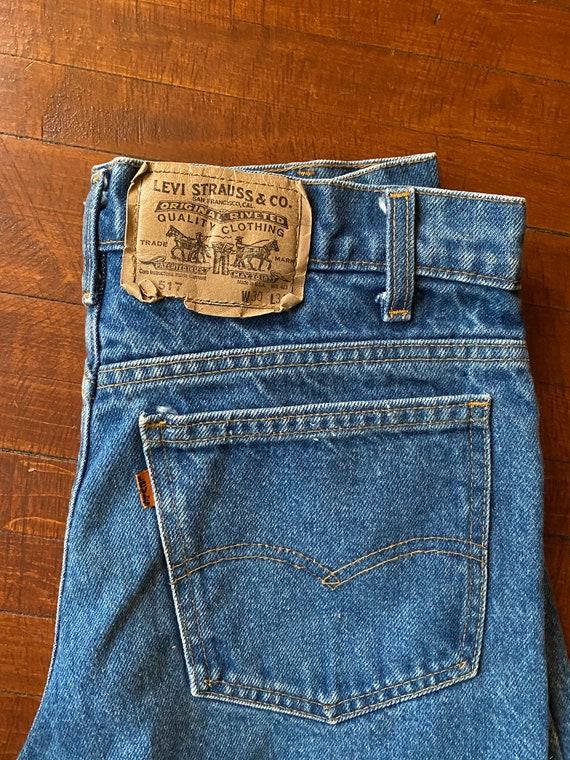 Vintage Levi's 517 Orange Tag Boyfriend Jeans 30x2