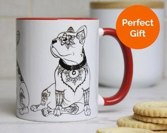 French Bulldog Mug: French Bulldog Dog Lover Gift, French Bulldog Mug Gifts - Frenchie Mom Gift, Frenchie Dad Gift, Frenchie Birthday Gift