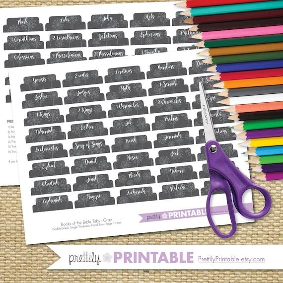 Conjunto De Libros Para Imprimir Las Fichas De La Biblia En Etsy