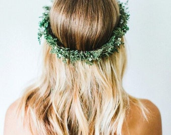 Evergreen Winter Flower Crown