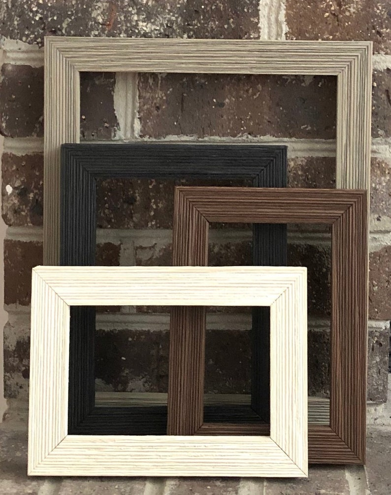 Solid Wood 1 Barnwood 11x14 12x16 Picture Frame Farmhouse Frames Weathered Rustic Barnwood Picture Frame Custom Made