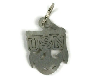 US NAVY Chief Anchor Key Chain