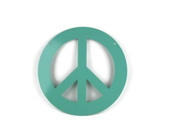 Metal Peace Sign Garden Sign, peace hanging sign, peace symbol