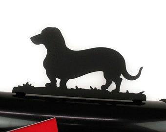Wiener Dog Mailbox Topper, Metal Dachshund Mailbox Topper, Dog Mailbox, Doxie, Dachshund, Wiener Dog, Metal Mailbox Topper, Dog Mom gift
