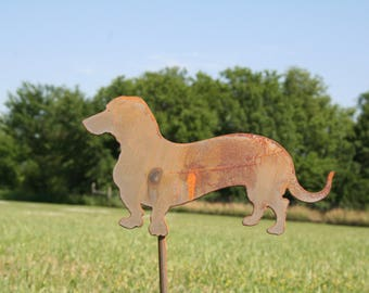 Wiener Dog Stake, wiener dog, dog yard sign, dog garden stake, wiener dog sign, dachshund art, pet memorial, dachshund sign