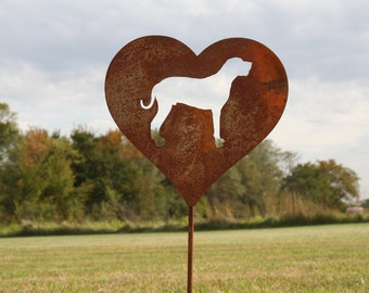 Rustic Animal Stakes