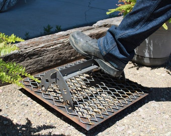 Steel Expanded Iron Outdoor Boot Mud Scraper Cleaner Small and Large