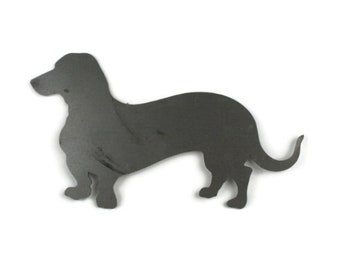 Raw Steel Animal Cut-Outs -- Dogs, Cats, Rabbit, Small Metal Animal