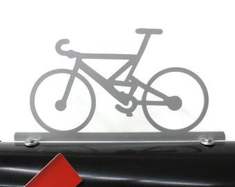 Bicycle Bike Metal Mailbox Topper