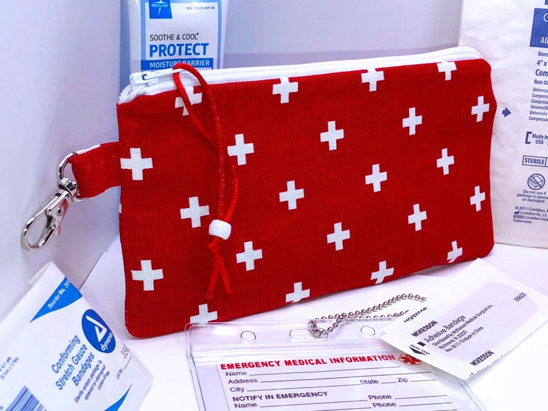 INSULIN Pen Case Auvi-Q Pouch First Aid Bag EpiPen Bag Holds Two Epi Pens BULK Set of FIVE Insulated 8 x 4 Diabetic Supply Bag