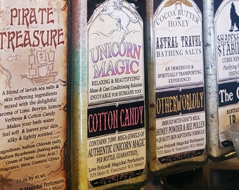 Pirate Treasure - Bathing Salts - Cotton Candy Margarita - Love Potion Magickal Perfumerie