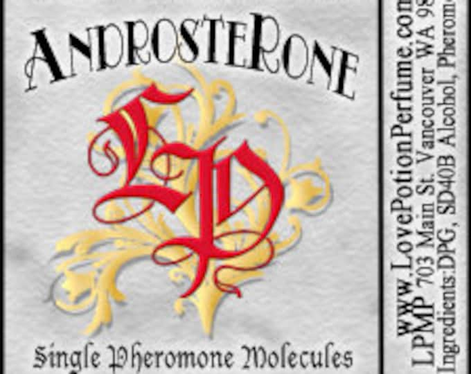 PHEROTINE! ~ AndrosteRone ~ Single Pheromone Molecule - Limted Ed UNscented Pheromone Trials by Love Potion Magickal Perfumerie
