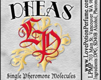 PHEROTINE! DHEAS ~ Single Pheromone Molecule - Limited Ed UNscented Pheromone Trials by Love Potion Magickal Perfumerie
