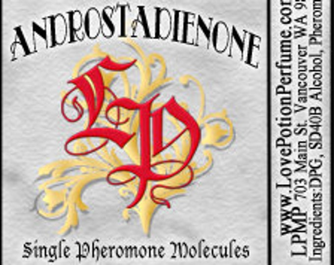 PHEROTINE! Androstadienone ~ Single Pheromone Molecule - Limted Ed UNscented Pheromone Trials by Love Potion Magickal Perfumerie
