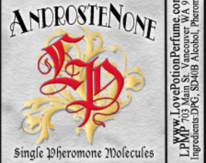 PHEROTINE! ~ AndrosteNone ~ Single Pheromone Molecule - Limted Ed UNscented Pheromone Trials by Love Potion Magickal Perfumerie