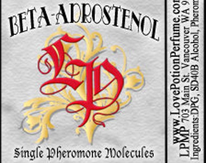 PHEROTINE! ~ Beta-Androstenol ~ Single Pheromone Molecule - Limted Ed UNscented Pheromone Trials by Love Potion Magickal Perfumerie