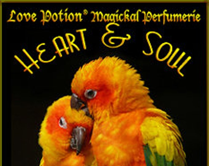 Heart & Soul - UNscented Pheromone Blend for Women - Love Potion Magickal Perfumerie