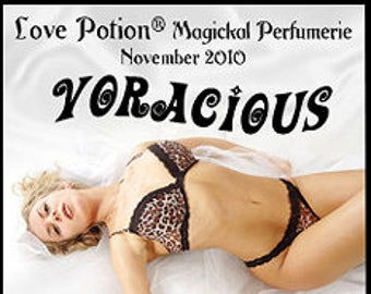 Voracious w/ Wanted Man - Pheromone Enhanced Fragrance SPRAY for Men - Love Potion Magickal Perfumerie