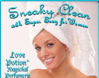 Sneaky Clean w/ Super Sexy - for Women - Pheromone Enhanced Perfume - Love Potion Magickal Perfumerie