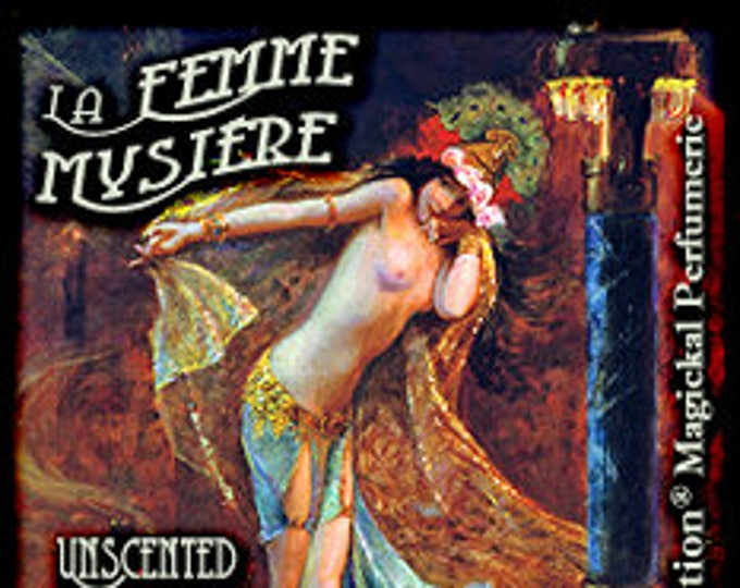 La Femme Mystere - UNscented Pheromone Blend for Women - Love Potion Magickal Perfumerie
