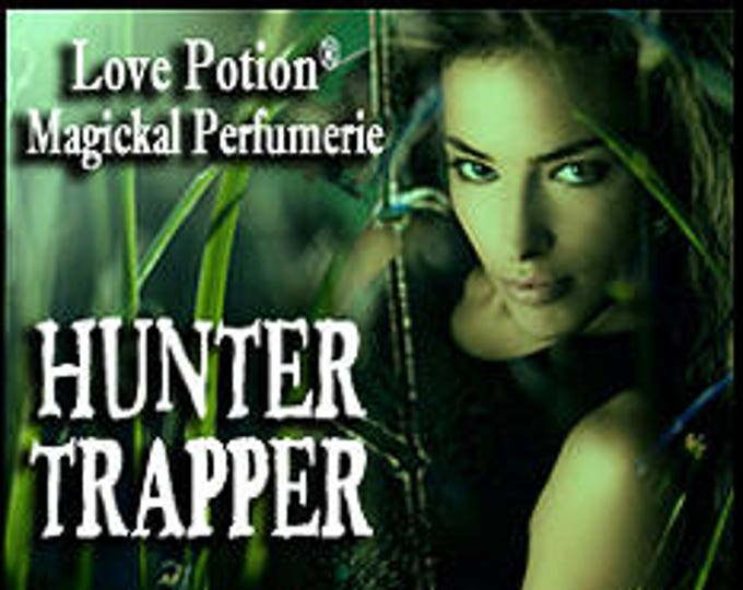 Hunter Trapper - UNscented Pheromone Blend for Men - Love Potion Magickal Perfumerie