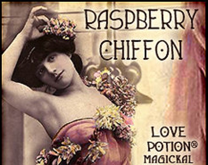 Raspberry Chiffon - Handcrafted Fragrance for Women - Love Potion Magickal Perfumerie