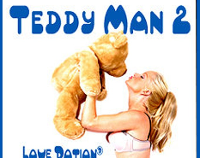 Teddy Man - for Men / Unisex - Pheromone Enhanced Fragrance - Love Potion Magickal Perfumerie