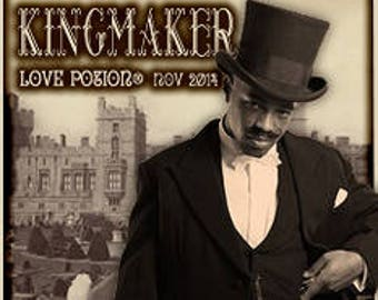 Kingmaker - for Men - Pheromone Enhanced Handcrafted Original Fragrance - Love Potion Magickal Perfumerie