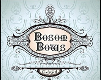 Bosom Bows w/ Girl Girl - Pheromone Enhanced - Handcrafted Unisex Fragrance - Love Potion Magickal Perfumerie