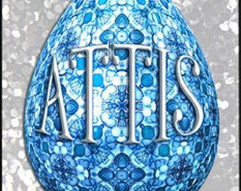 Attis for Men - Spring 2017 - Limited Edition Original Fragrance - Love Potion Magickal Perfumerie